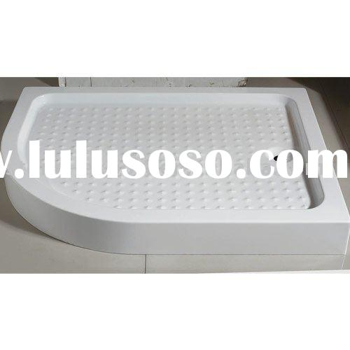 Solid surface artificial stone shower base,show panel