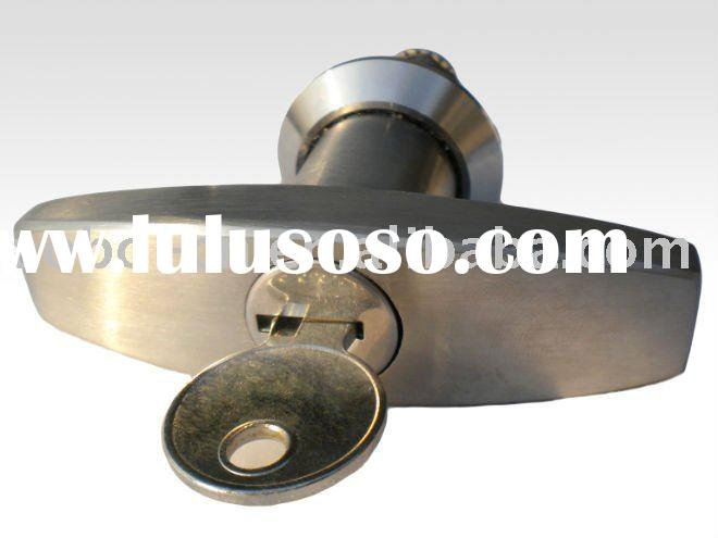 Stainless steel cabinet door T handle cam lock(SS AISI316)