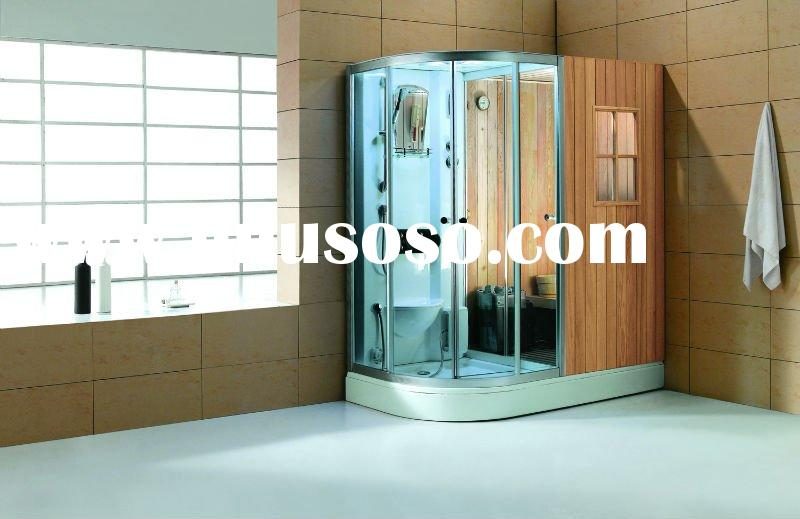 Steam shower room with dry sauna , 2011 NEW model ,high quality