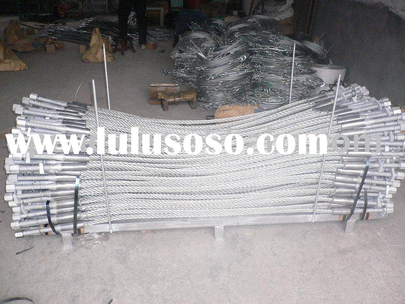 Steel Wire Rope sling, cable Sling, galvanized steel wire rope