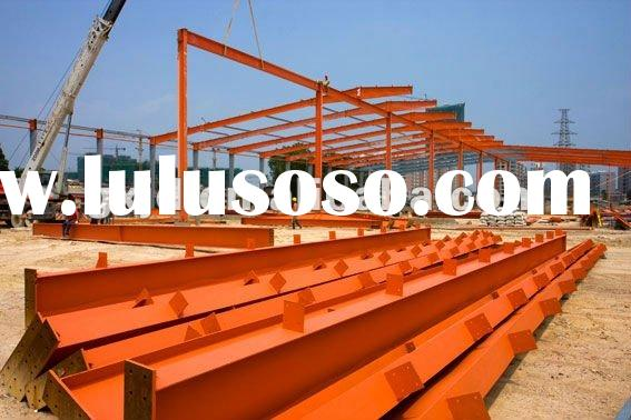 Steel structure fabricated warehouse/workshop, Light steel structure for warehouse/workshop