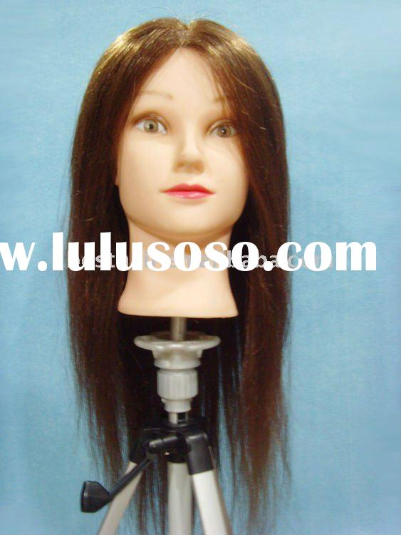TEACHING HAIRDRESSING HEAD/ TRAINING HEAD/ PRACTISING lace wig mannequin head