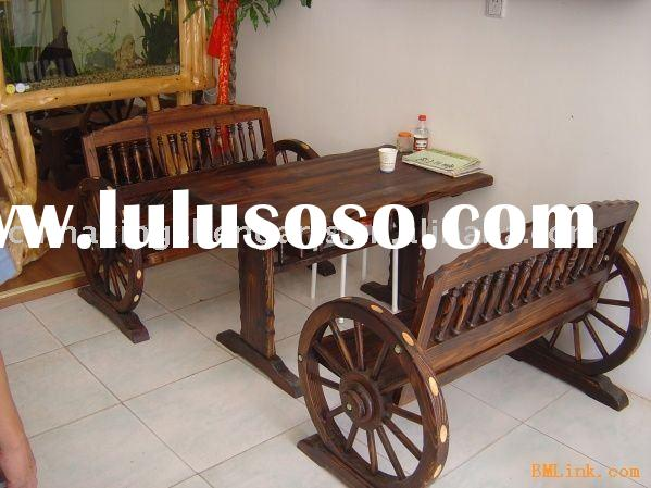 Tables and Chairs wooden antique furniture