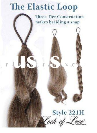 The Elastic Loop hair Accessories - Switch - Natural Ponytail