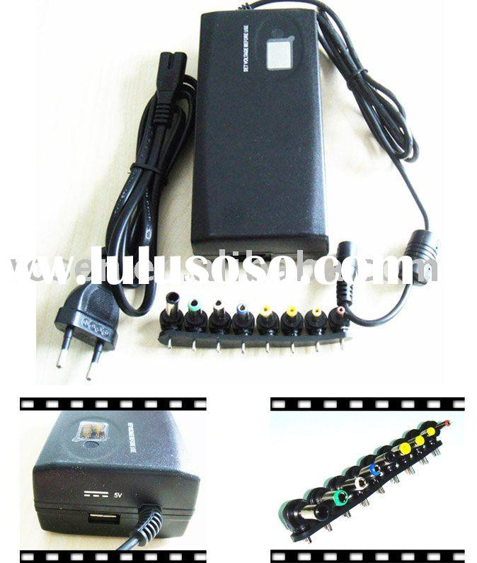 Tinpec Universal AC Power Adapter Kit 90W w / 8 Tips For Laptop and LCD Monitor