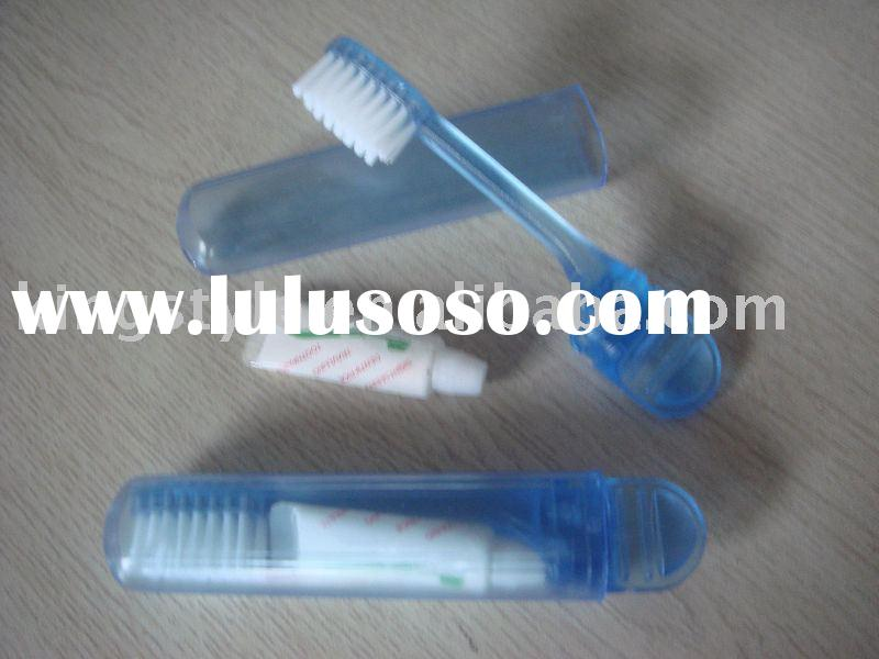 Toothbrush with Toothpaste Set