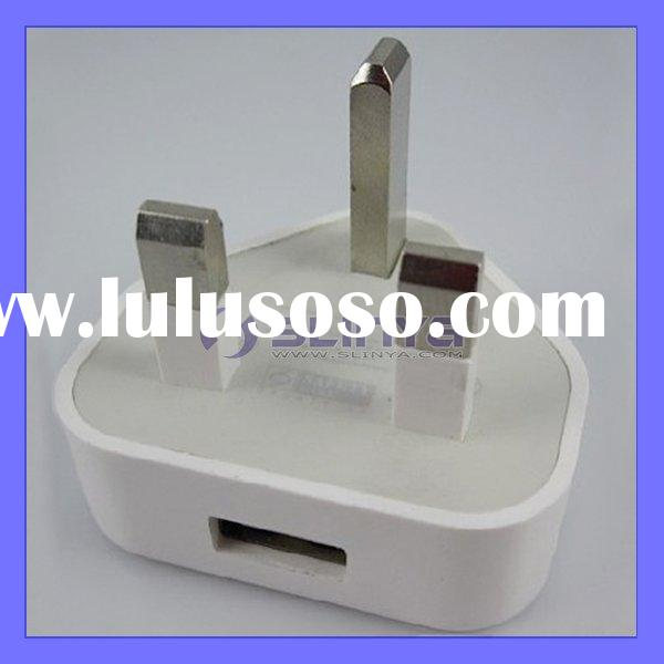 USB Power Adapter Wall Charger For Apple iPhone 4 4G UK Plug