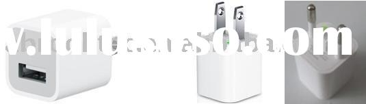 USB power adaptor for Apple iPhone and iPod
