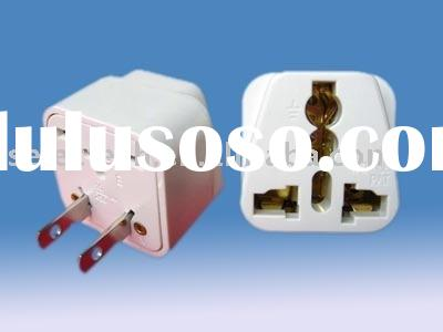 Universal Adapter,AC/DC power PLUG adapter 2 Flat Pin Plug Adaptor SE-WD-6