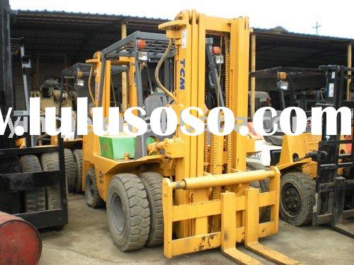 Used fork lift TCM 5T for sale(0086-187 210 33698)
