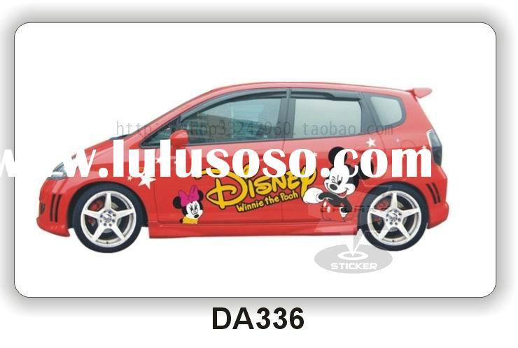 Vehicle Wrapping Car/Auto Body Vinyl Graphic Custom Stickers Cartoon DA336