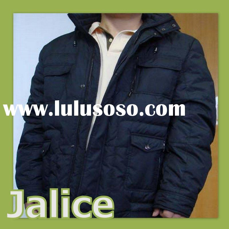 Western Winter Padding Down Jacket for Men
