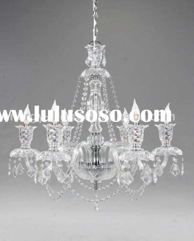 White glass Crystal Chandelier,pendant light/lamp