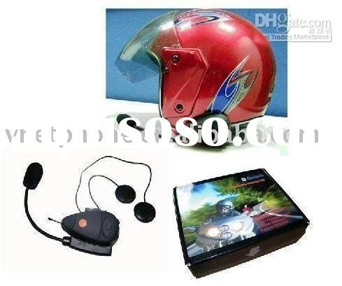 Wireless 500m Bluetooth headset for motorcycle helmet