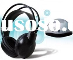 Wireless Headphone | USB PC Infrared Wireless Headphone, Infrared Transmitter and Receiver, With MIC