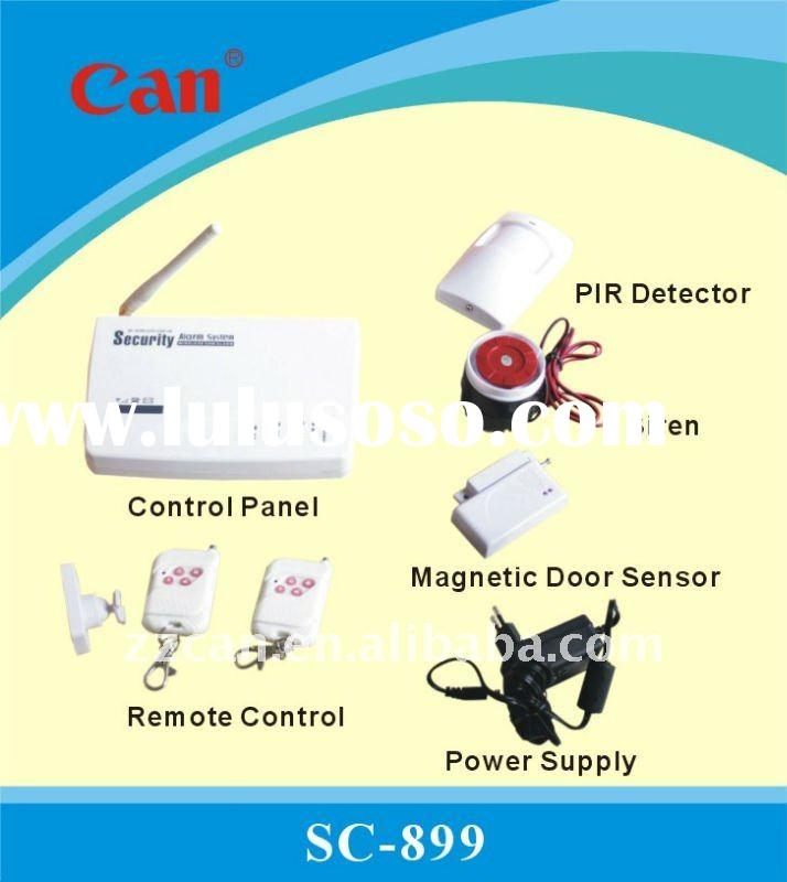 Worldwide Best Sale Self-contained Wireless GSM Home Security Alarm System SC-899