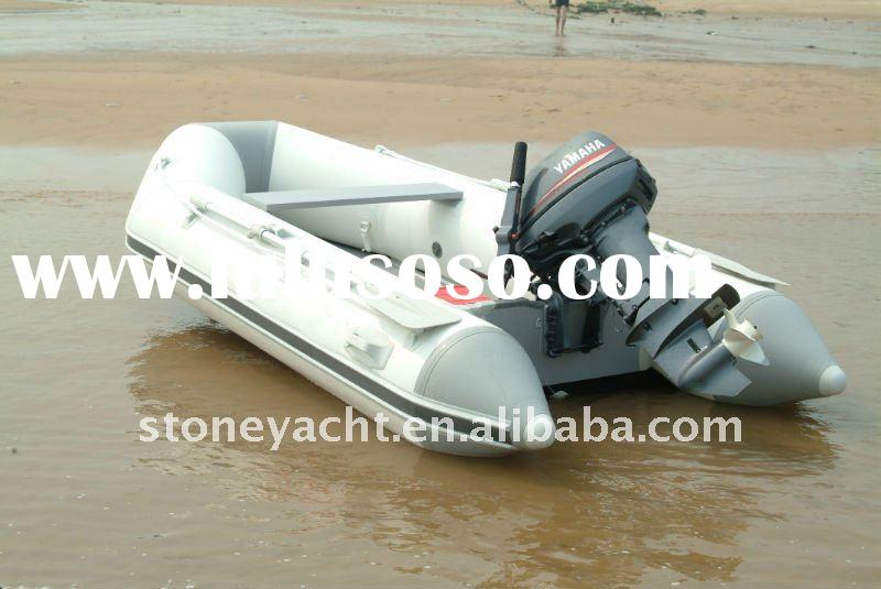 (CE) PVC Aluminum Floor Rubber boat with YAMAHA Outboard Engine