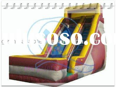 {Qi Ling}hot sale slide inflatable for rent