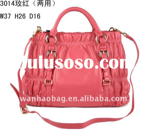 (in stock)full leather,Soft sheepskin,fashion ladies handbag,Messenger bags,Hobo bags,Luxury brand b