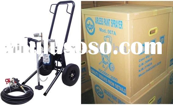 airless high pressure paint sprayer