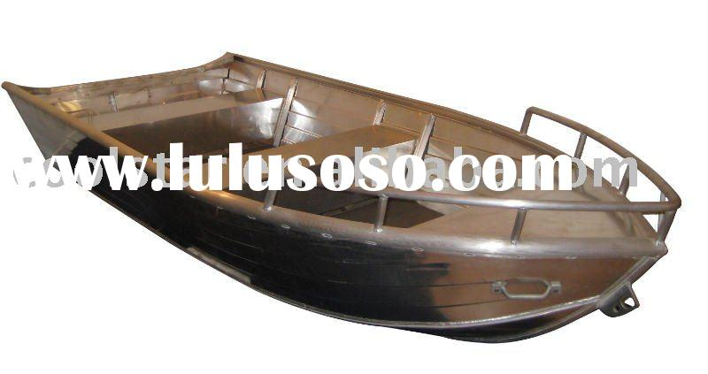 Aluminum welded 16 boat no motor all boats Aluminum boat and motor packages