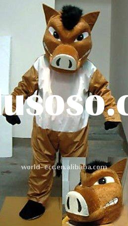 animal mascot costumes, cow carnival costumes,adult halloween costumes