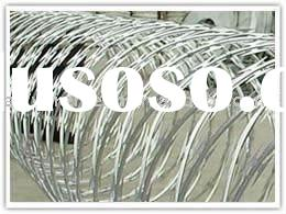 anruifeng concertina razor barbed wire( biggest factory and high quality)