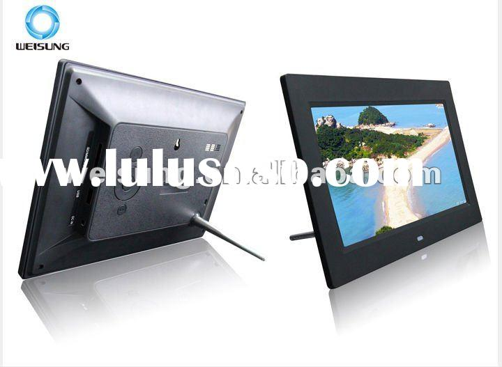 battery operated digital photo frame