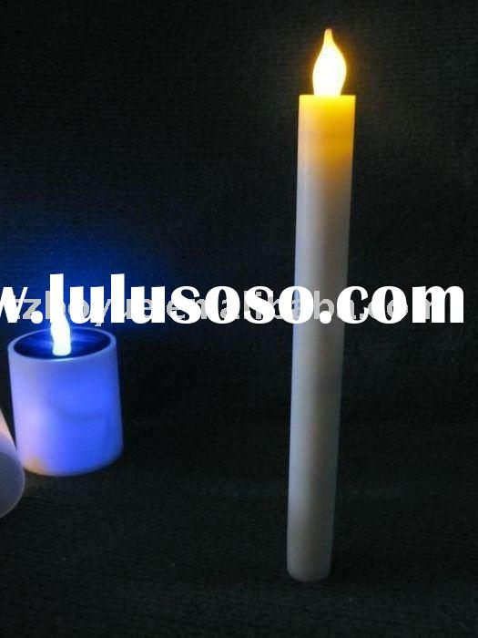 battery operated flashing candle stick light
