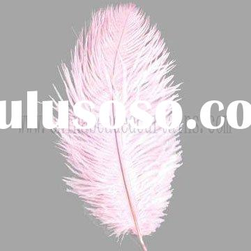 Highest Quality candy pink Ostrich Feather centerpiece wedding feather