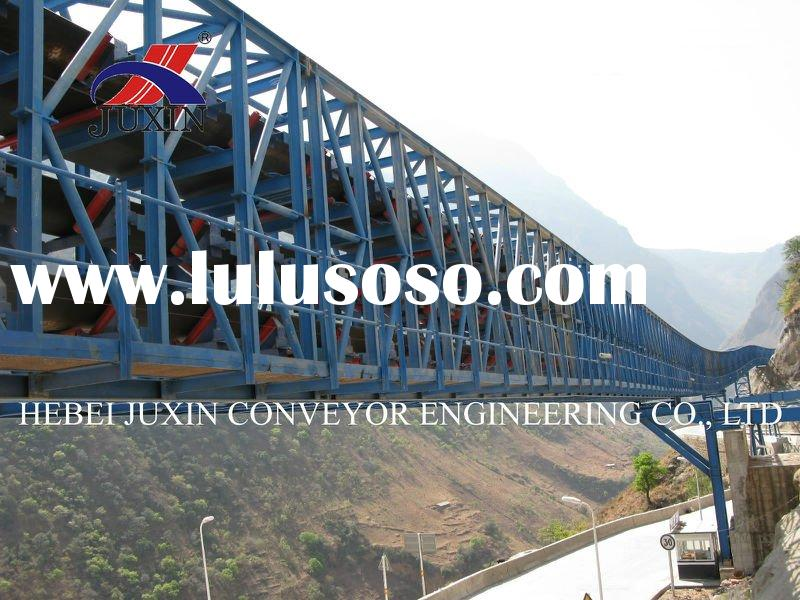 belt conveyor systems, material handling equipment, material handling systems, mobile conveyor belt,