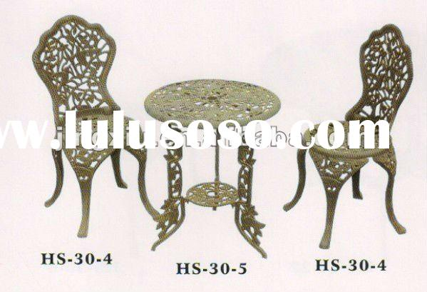 cast iron table and chair (HS-30-4)