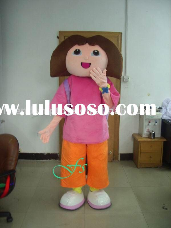 character dora the explorer mascot costume