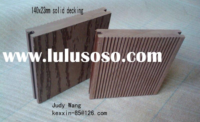 cheapest wood -plastic composite decking floor