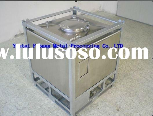chemical stainless steel storage tank