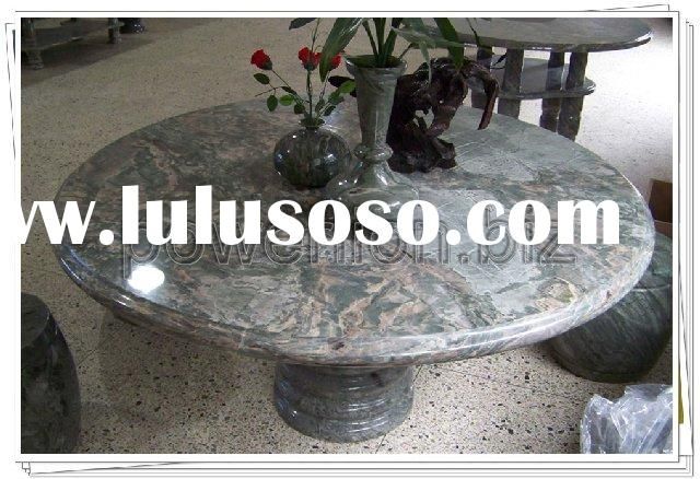 chinese marble round dining table--Dragon stone
