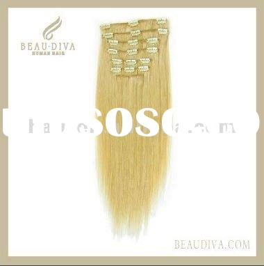 clip in human hair extensions,remy clip in hair extension