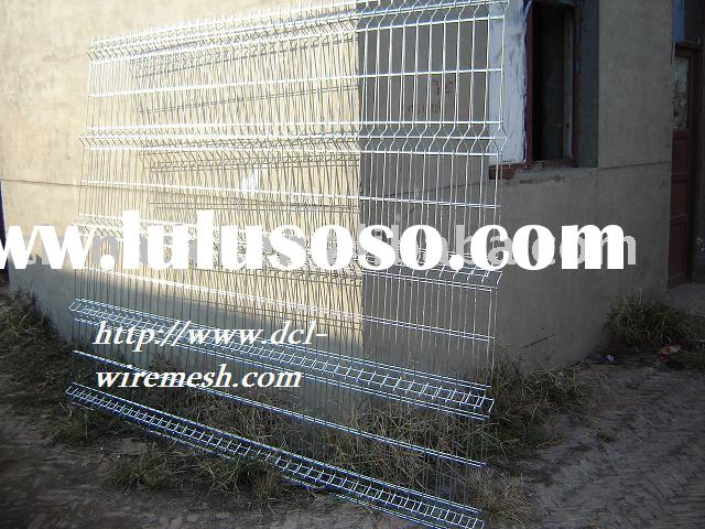 cross fencing,galvanized welded wire mesh panel