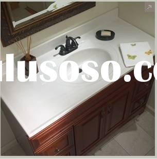 Corner Bathroom Sink Vanity on Sink Bathroom Vanity With Marble Top  Ove Reni 72 Double Sink Bathroom