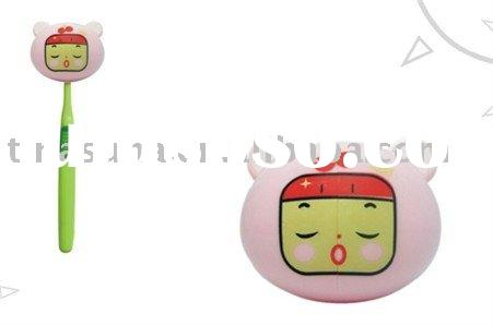 cute toothbrush cartoon cover toothbrush holder