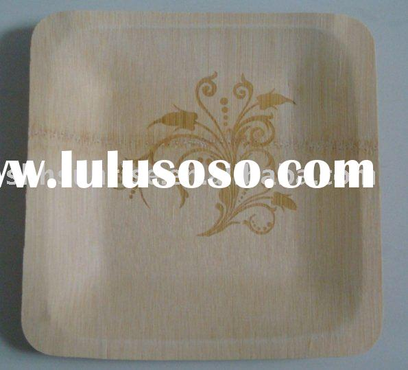 disposable bamboo plate /Eco-friendly product