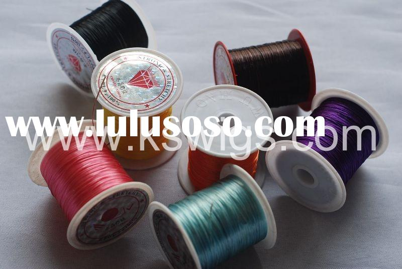 elastic thread for hair extensions