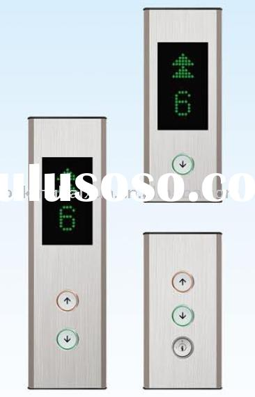 elevator parts, elevator COP, HOP, LOP, elevator hall station box, hall call box