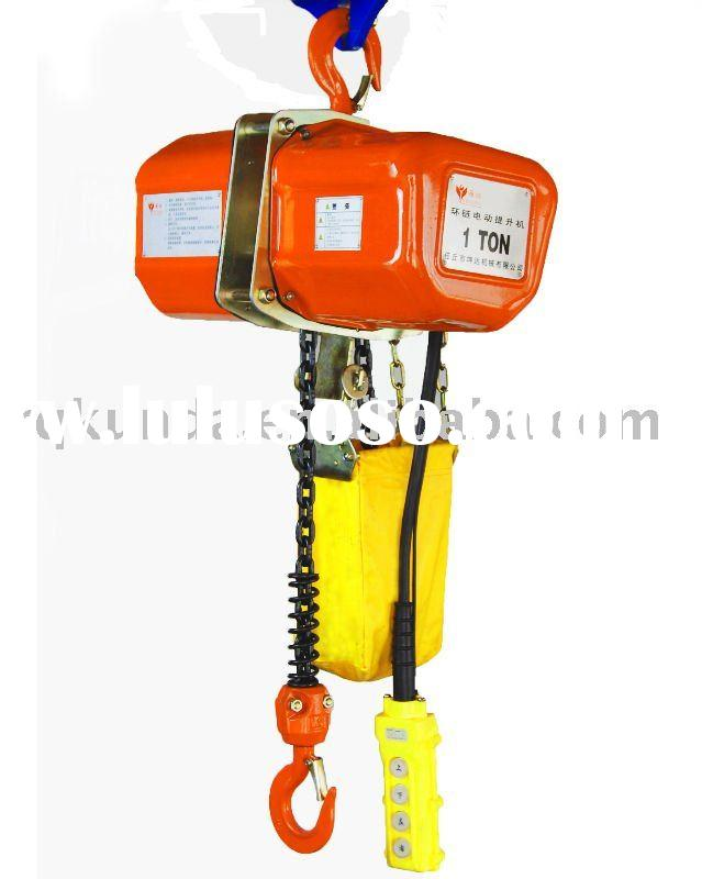 endless electric chain hoists capacity 2T