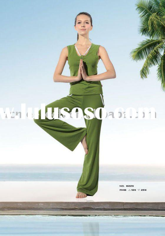 fashion ladies` yoga wear;plus size yoga wear