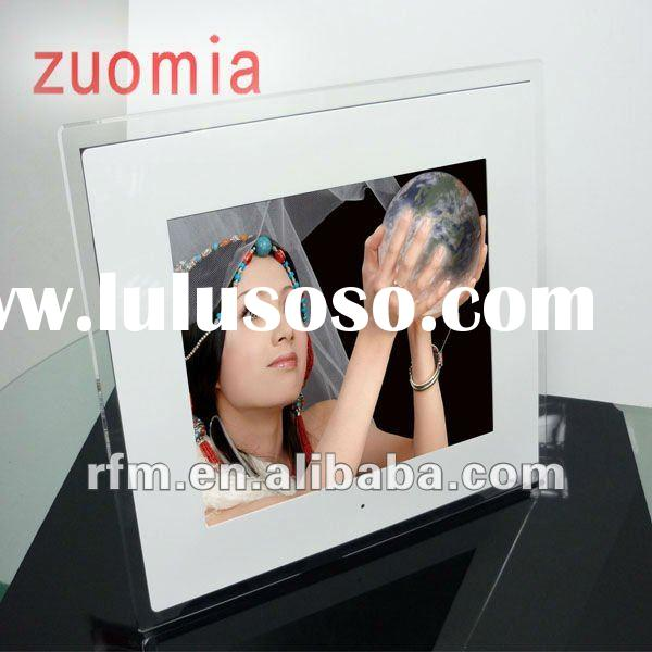 fashionable acrylic battery operated digital photo frame