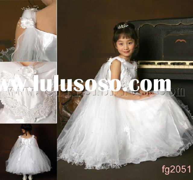 fg2051 lovely flower wedding dresses ,flower girl's dress