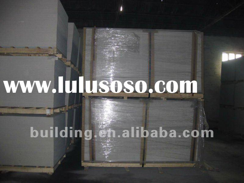 fiber cement board production line for ceiling (high strength) 100%non asbestos surface treatment