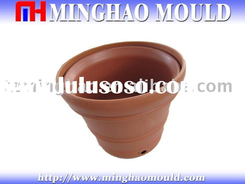 flower pot plastic mold making
