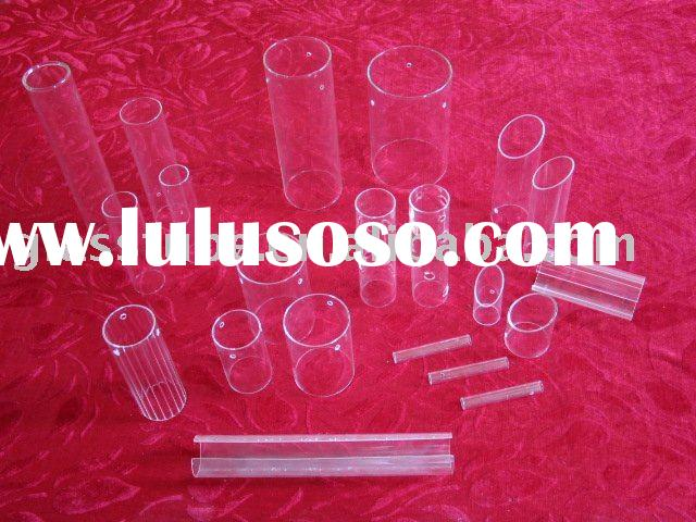 glass cylinder,glass lighting shade,glass lamp cover.borosilicate glass tube
